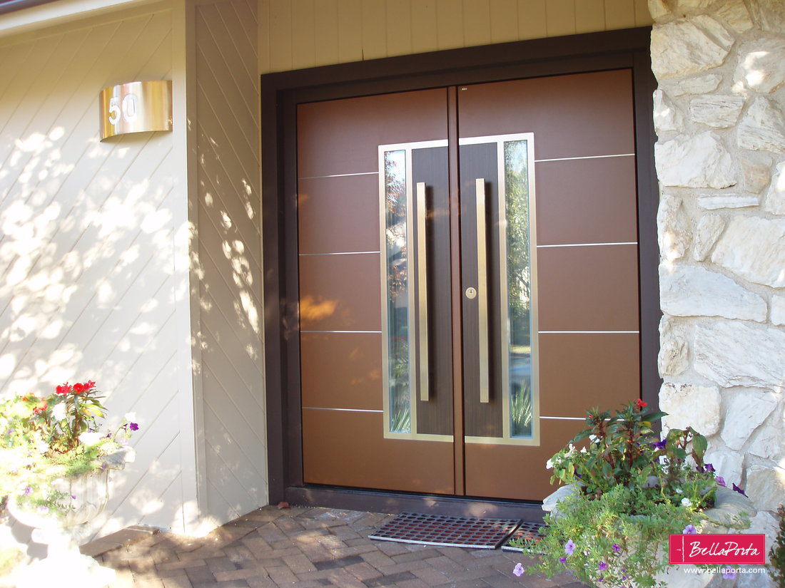 Double front door model b33 4 thick high security custom colors